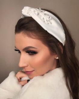 Tiara Turbante em Cetim Gloss 1