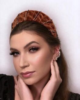 tiara melanie #2 em veludo